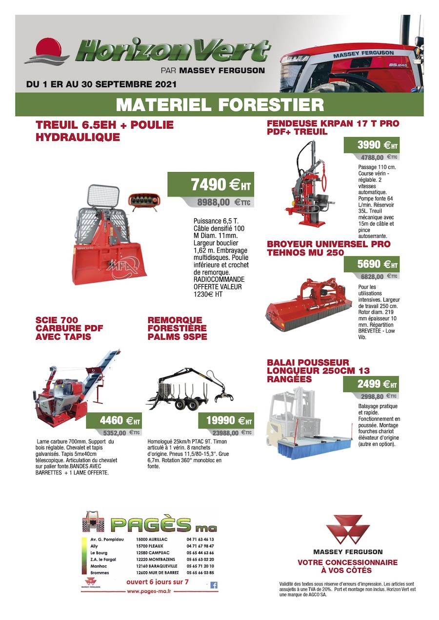 Matériel Forestier